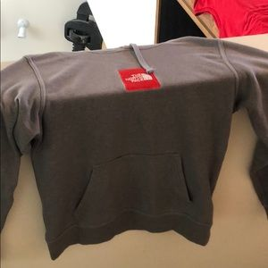 Grey Men's The North Face hoodie size small